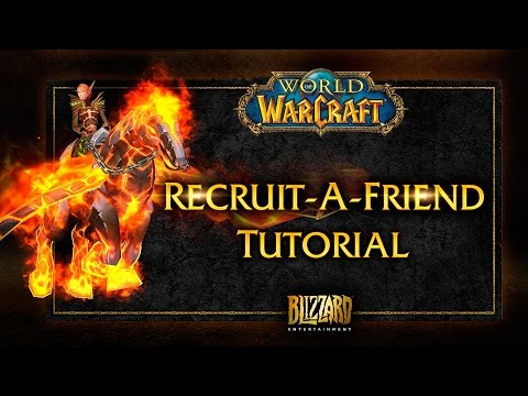 World of Warcraft Guide: Recruit a Friend Solo Setup