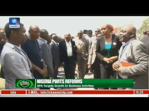 Nigeria Ports Reforms: NPA Tours Facilities In Delta And Rivers States
