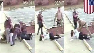 Savage police beating: Florida cop caught pummelling suspect now faces 10 years in prison - TomoNews