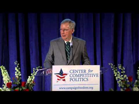 Senate Majority Leader Mitch McConnell speech at the Center's 10th Anniversary Gala