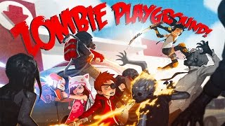 Defeating the Janitor!! - Zombie Playground (Steam Early Access)
