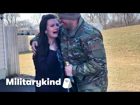 Airman lands amazing surprises for his family   Militarykind