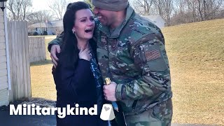 Airman lands amazing surprises for his family | Militarykind