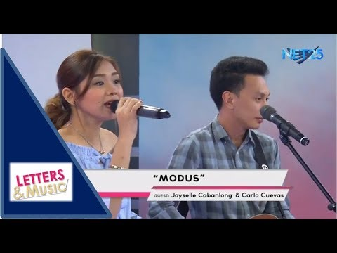JOYSELLE CABANLONG & CARLO CUEVAS - MODUS (NET25 LETTERS AND MUSIC)