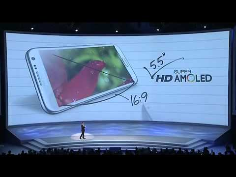 LIVE Unpacked 2012 Samsung Galaxy Note 2 Berlin August 29 IFA 2012