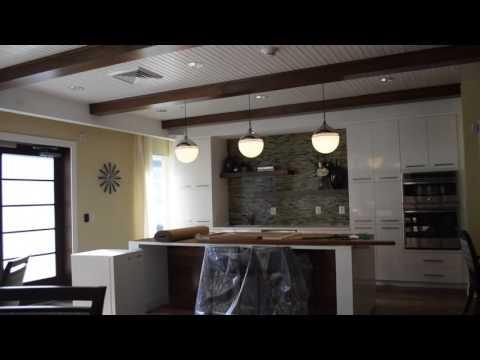Front entrance (concierge desk, cafe, living room, balcony)