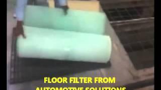 Замена напольного фильтра в автомобильной камере(Как заменить фильтр напольный в покрасочной камере?, 2015-02-13T08:52:54.000Z)