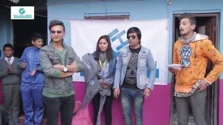 Paul shah active in social work || clothes donation program with Sapan Shrestha || By Help for human