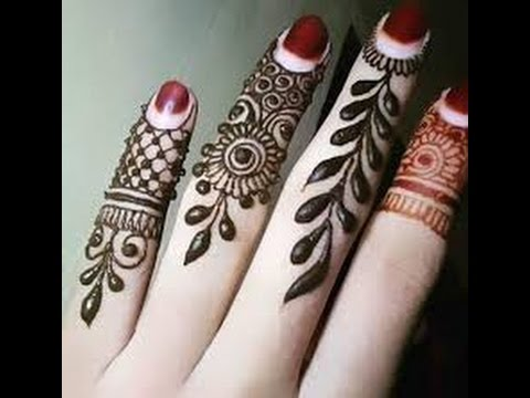 Mehndi Patterns On Fingers : Fingers mehandi designs for all functions youtube