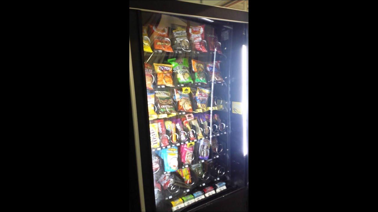 He broke the Vending Machine