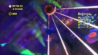 Sonic Lost World (Wii U): Lava Mountain Zone 2 Time Attack 2:46.84