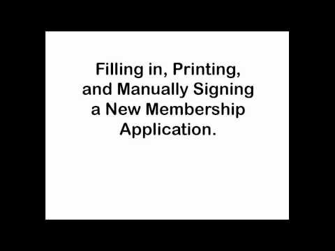 Video Tutorial -- Private Well Owners Cooperative Membership Application