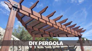 Building a DIY Pergola