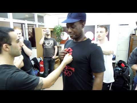 Wing Chun Penetrating Punch - Nima King - Chu Shong Tin Wing Chun