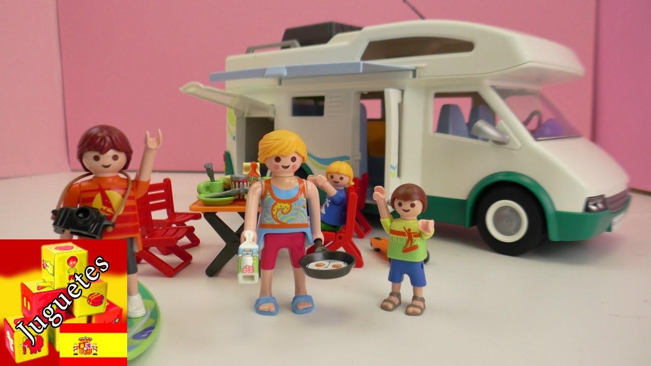 Armemos la casa m vil de playmobil playmobil caravana de for Autocaravana playmobil