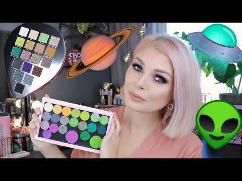 How To: Create Your Own Perfect Jeffree Star Alien Palette 👽👽👽