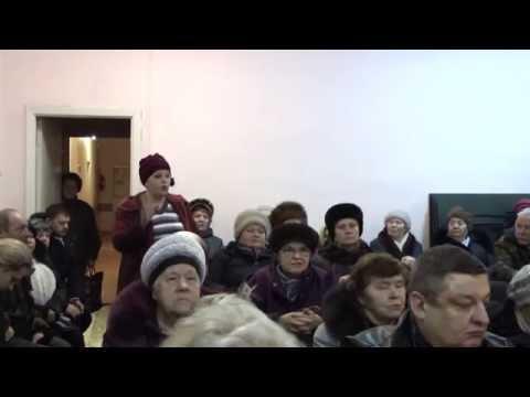 Встреча главы администрации балабаново с жителями