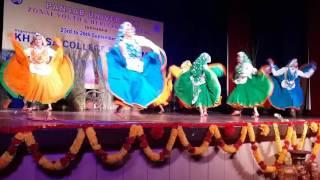 youth fest haryanavi dance by kcw 2013 panjab university zonal