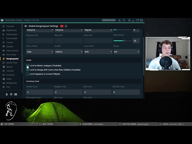 How to Setup Streamlabs Chatbot Song Request