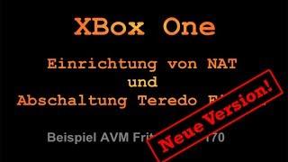 howto nat xbox one problemhilfe bei nat strikt ffnen teredo tunnel neu fr fritzos 6 x