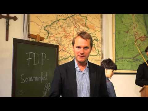 Eröffnung des YouTube Kanals mit Daniel Bahr