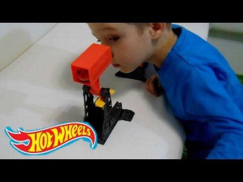 Хот Вилс Карманный трек Гонки! Pocket track Hot Wheels!