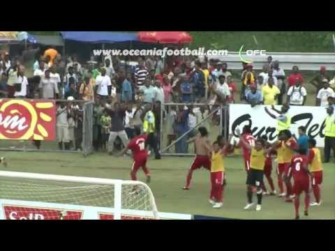 2012 OFC Nations Cup / Semi-Final 2 / New Zealand vs New Caledonia Highlights