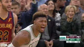 Marcus Smart Highlights vs Cleveland Cavaliers (12 pts, 7 ast, 3 stl)