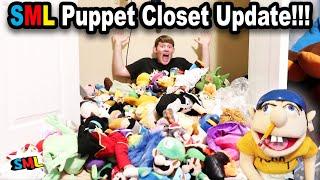 SML PUPPET CLOSET UPDATE!!!