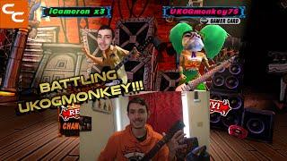 BATTLING UKOGMONKEY!!! GH3 ONLINE BATTLE AGAINST UKOGMONKEY75