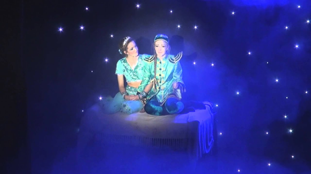 Chyps Panto Aladdin A Whole New World Flying