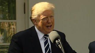 Trump denies he was insensitive to widow