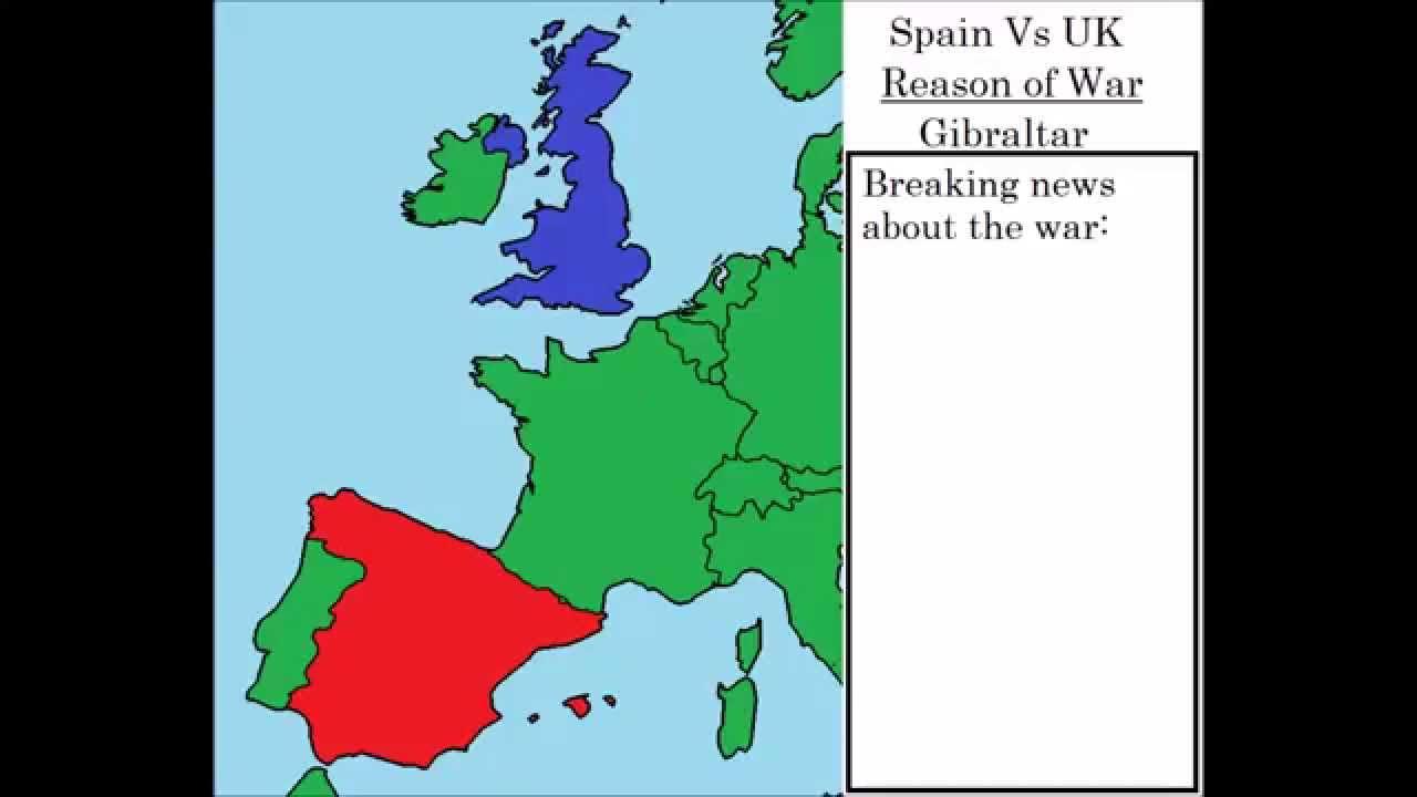 War simulation spain vs uk youtube gumiabroncs Gallery