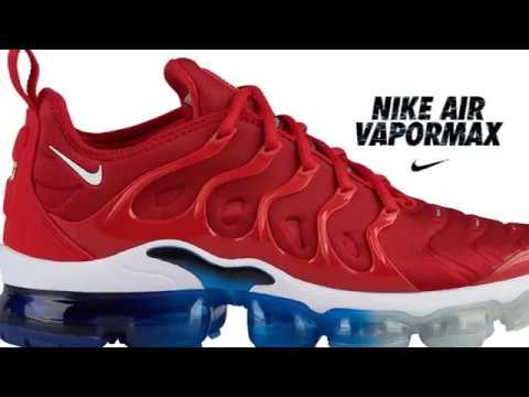 818499faf8c14 NIKE Air Vapormax Plus Mens 924453 601 - YouTube