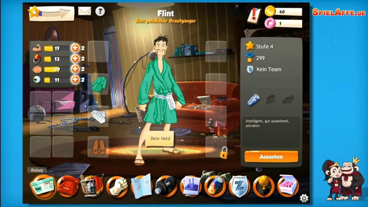 Hero Zero WwwSpielAffede YouTube - Spielaffe mit minecraft