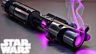 Star Wars REVEALS Major Purple Lightsaber Revelation (Canon) - Star Wars Explained