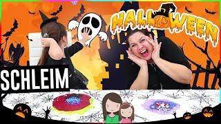 Halloween Schleim 👻  OHNE Schüssel und Löffel 🤪 Alles Ava