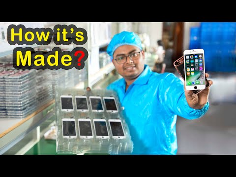 How iPhone Display is Made in China - Factory Tour - Spidertech
