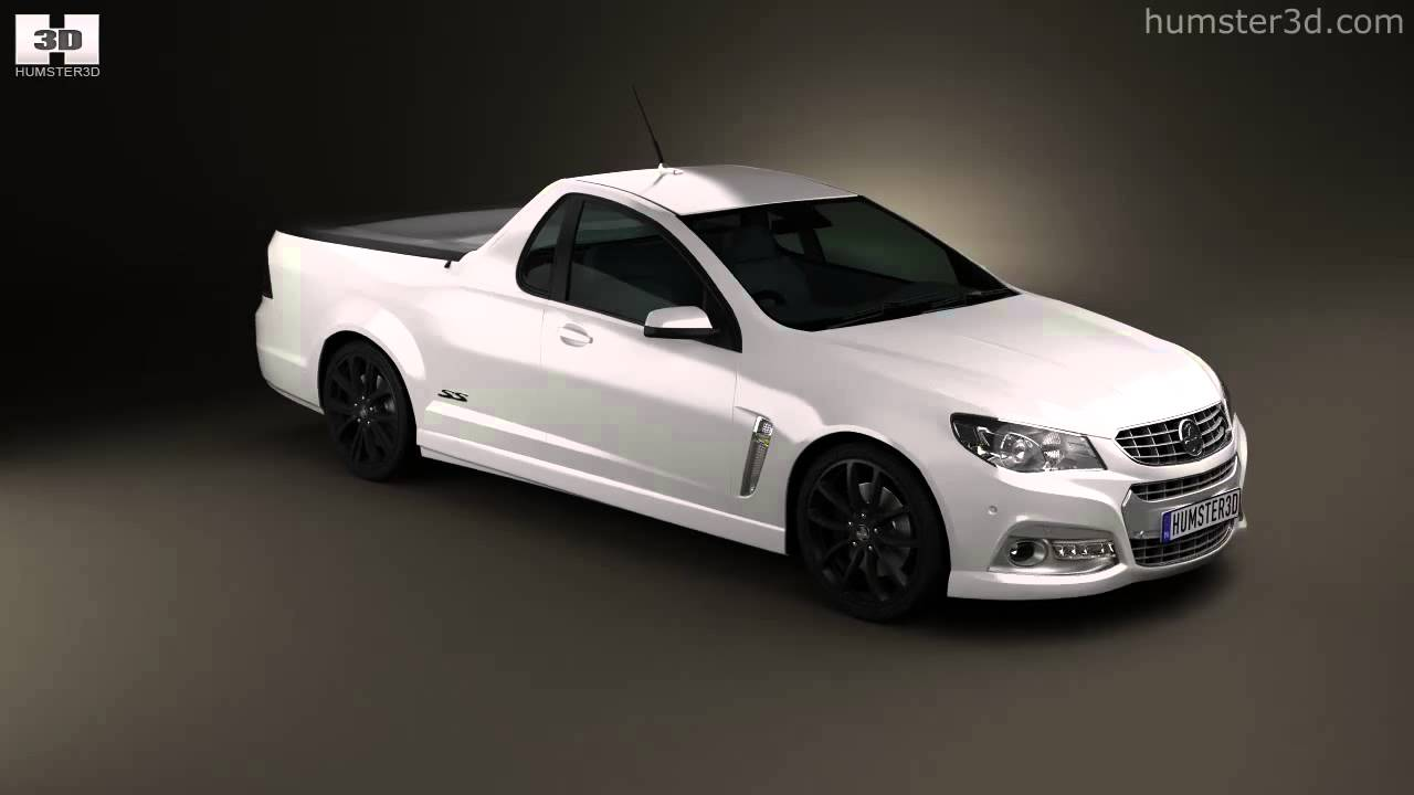 Holden vf commodore calais v ute 2013 by 3d model store humster3d holden vf commodore calais v ute 2013 by 3d model store humster3d vanachro Images