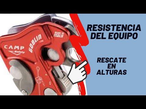 TRABAJO EN ALTURAS - Resistencia de los equipos para trabajo en alturas