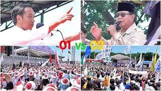 Aman.. Jokowi dan Prabowo kampanye di Karawang. Ini Bedanya..