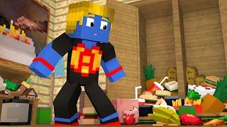 Minecraft: ESTOQUE DE COMIDA ‹ MORANDO SOZINHO › #02