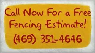 Fence Rockwall Texas  --  Phone 469-351-4646 For a Free Quote