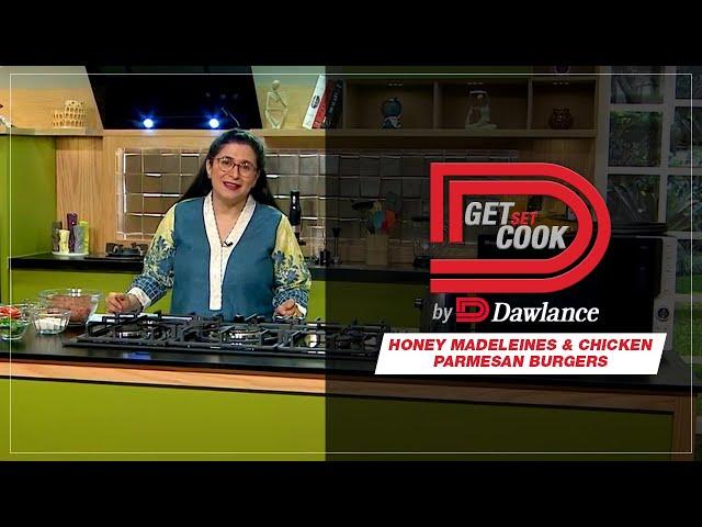 Honey Madeleines & Chicken Parmesan Burgers | Get Set Cook | Episode 5