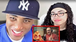 Video The Greatest Pizza Order Ever Mac Lethal Reaction | MY DAD REACTS download MP3, 3GP, MP4, WEBM, AVI, FLV Agustus 2018