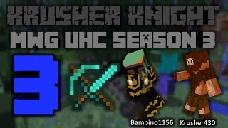 Minecraft- MWG UHC- S3- E3- Iron Horsemen?