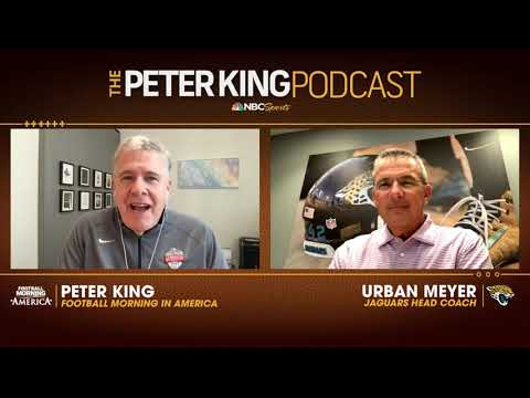Urban Meyer all but assures Jaguars will draft QB Trevor Lawrence | Peter King Podcast | NBC Sports