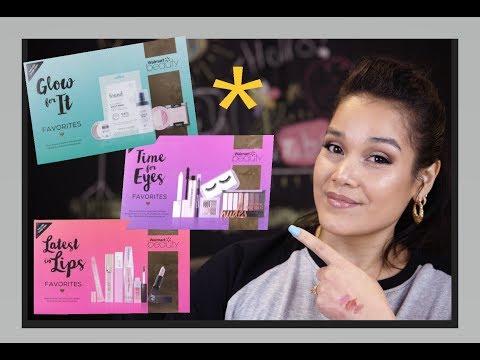 $10- FULL SIZE- WALMART BEAUTY BOXES - NOT SUBSCRIPTION!!
