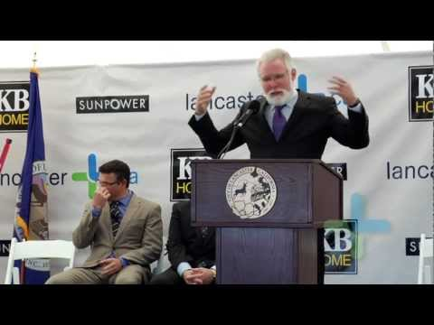 KB Home & SunPower 100th Solar Home