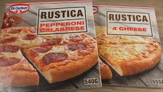 Dr. Oetker - Pizza Rustica - Pepperoni Calabrese & 4 Cheese